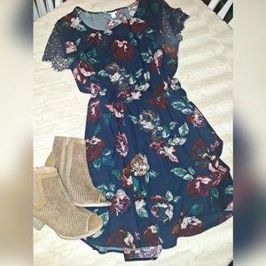 Merona flowered dress